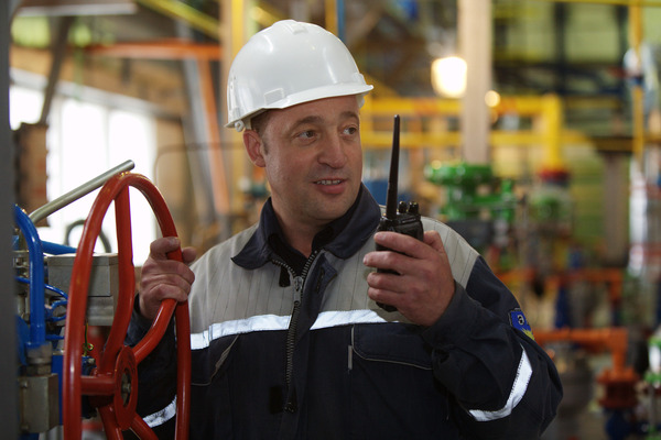 Victor Bulatnikov, oil and gas production operator of the Zapolyarnoye field of Gazprom dobycha Yamburg